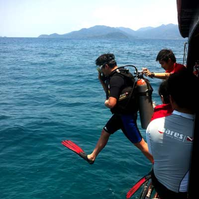 Diving Koh Chang - not bad !