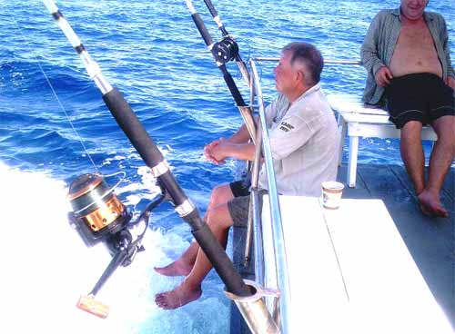 Fishing with Sea Hunter