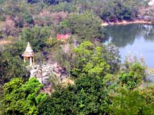 Overlooking Chinese Temple at Klong Son