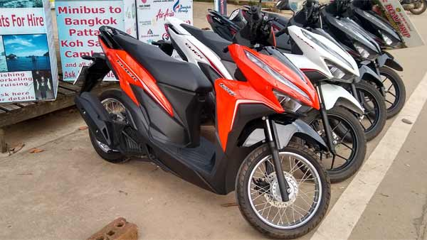 Koh Chang Motorcycles for rent