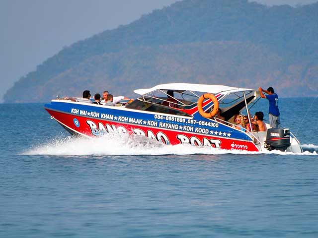 Bang Bao Speedboat from Koh Chang to Koh Kood