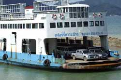 Ferry is included in our ticket price